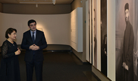 Spouse of the President Mrs. Nouneh Sarkissian visited the Komitas Museum-Institute