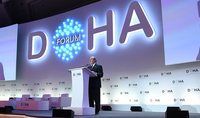 President Sarkissian made a statement at the Doha Forum: this is a new world where small countries can become powerful