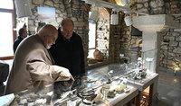 Նախագահ Արմեն Սարգսյանն ու տիկին Նունե Սարգսյանն այցելել են Շուշիի երկրաբանության պետական թանգարան