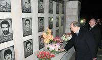 В Арцахе каждое село имеет свою историю, своих героев. Президент Саркисян посетил село Арав Аскеранского района
