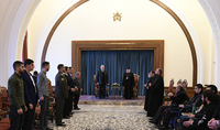President Sarkissian and Catholicos of All Armenians met with handicapped military servicemen: you still have much to do for the Fatherland