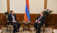 Президент Саркисян провёл встречи с представителями различных политических и общественных организаций