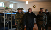 President Sarkissian visited an engineering-demining division of the Defense Army