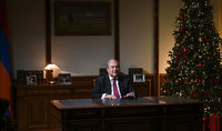 President Armen Sarkissian's congratulatory message on the occasion of the  New Year