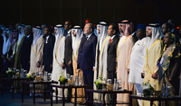 President Armen Sarkissian in UAE participated at the opening of the prestigious international Abu Dhabi Sustainability Week Forum