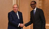 Փոքր երկրները ևս կարող են լինել ուժեղ, արդյունավետ ու հաջողակ. Հայաստանի և Ռուանդայի նախագահները կարևորել են սերտ համագործակցությունը