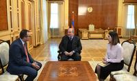 Президент Саркисян встретился с Министром здравоохранения