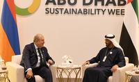 Мы готовы максимально развивать и расширять связи с ОАЭ – Президент Армен Саркисян встретился с наследным принцем Абу-Даби, заместителем главнокомандующего Вооружёнными силами ОАЭ шейхом Мохаммедом бин Зайдом Аль Нахайяном