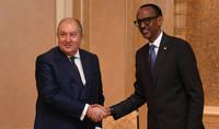Small countries too, can be strong, efficient and successful: Presidents of Armenia and Rwanda stressed the importance of close cooperation