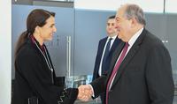 Сотрудничество в сфере продовольственной безопасности - Президент Саркисян встретился с Госминистром продовольственной безопасности ОАЭ