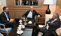 Для Thales очень важен высококлассный человеческий капитал Армении. Президент Армен Саркисян в Цюрихе встретился с представителями французской Thales Group