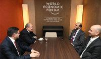 Կատարի ներդրումային հիմնադրամը հետաքրքրված է Հայաստանի հետ տնտեսական կապերի զարգացմամբ․ Հայաստանի նախագահ Արմեն Սարգսյանը Դավոսում հանդիպել է հիմնադրամի գործադիր տնօրեն Մանսուր բին Էբրահիմ ալ Մահմուդի հետ