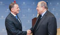 Рабочий визит Президента Армена Саркисяна в Государство Израиль