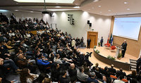 «Ինչ-որ առումով ես հավատում եմ, որ մենք մուտք ենք գործում Վերածննդի նոր դարաշրջան». նախագահ Արմեն Սարգսյանը դասախոսությամբ հանդես է եկել Հոլոնի տեխնոլոգիական համալսարանում