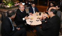 Փոխգործակցության մեծ հնարավորություններ կան. նախագահ Արմեն Սարգսյանը հանդիպել է Իսրայելի նորարարությունների կենտրոնի նախագահի հետ