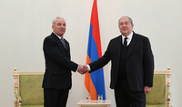 Newly appointed Ambassador of Ukraine in Armenia presented his credentials to Armen Sarkissian: opportunities for cooperation are much bigger than the current level