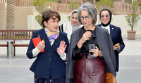 Culture is a special language for the peoples' and countries' mutual understanding, for bringing them closer together: Spouse of the President of Armenia Mrs. Nouneh Sarkissian visited the State of Kuwait at the invitation of the Sheikha of Kuwait Hussa Sabah al-Salem al-Sabah