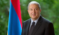 "Address of H.E. Armen Sarkissian, the President of the Republic of Armenia ""Holocaust Remembrance Week"" dedicated to the 75th anniversary of the liberation of