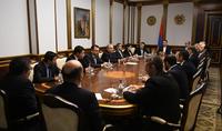 Совместными усилиями превратить Армению в страну современных технологий – Президент Армен Саркисян встретился с представителями компаний сферы ИТ