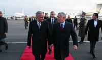 По приглашению Президента Саркисяна в Армению с официальным визитом прибыл Король Иордании Его Величество Абдалла II