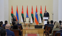 "The King of Jordan sent a message from Yerevan on ""Religion and Tolerance: ""The Saint Karapet Armenian Apostolic Church in Jordan is the testament to the enduring Armenian history in our country"""