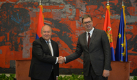 Президент Армен Саркисян направил поздравительное послание Президенту Сербии по случаю национального праздника страны