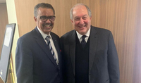 President Sarkissian met in Munich with the Secretary General of the World Health Organization