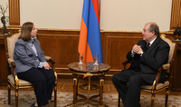 President Armen Sarkissian received the US Ambassador in Armenia Lynne Tracy