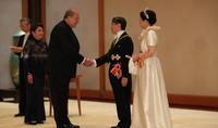 Նախագահ Արմեն Սարգսյանը շնորհավորական ուղերձ է հղել Ճապոնիայի կայսր Նարուհիթոյին