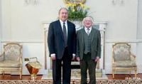 Հայ-իռլանդական բարեկամություն. նախագահ Արմեն Սարգսյանը շնորհավորական ուղերձ է հղել Իռլանդիայի նախագահին