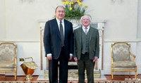 Армяно-ирландская дружба. Президент Армен Саркисян направил поздравительное послание Президенту Ирландии