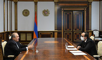 President Sarkissian held a working meeting with the Minister of Health