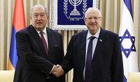 Նախագահ Սարգսյանը հեռախոսազրույց է ունեցել Իսրայելի Պետության նախագահ Ռեուվեն Ռիվլինի հետ