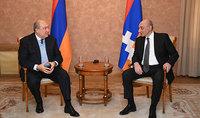 Рабочий визит Президента Армена Саркисяна в Республику Арцах