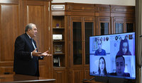 President gave a lecture to the students of the YSU Oriental Studies Department through video conferencing: if we, as a state and a nation, are organized and have strict discipline, we will be successful