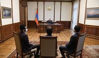 Инновации и успешные стартапы – правильный путь будущего. Президент Саркисян принял представителей фонда «Стартап Армения»