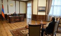 Сотрудничество в борьбе с коронавирусом. Президент Армен Саркисян принял посла ОАЭ Мухаммада Аль Зааби