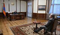 Նախագահ Սարգսյանն ընդունել է ԱԺ պաշտպանության և անվտանգության հարցերի մշտական հանձնաժողովի նախագահ Անդրանիկ Քոչարյանին
