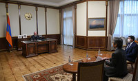 President Armen Sarkissian received Ambassador of Japan to Armenia
