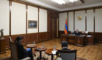 Armenia will be supplied with a large quantity of lungs artificial ventilation devices: President Sarkissian received the Representative and Country Director of the World Food Program in Armenia