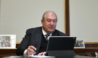 President Armen Sarkissian discussed via a video call the situation created by the new coronavirus with the Ambassador of India to Armenia