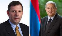 Между специалистами Армении и Израиля будет организована видеоконференция на тему преодоления пандемии коронавируса. Президент провёл телефонный разговор с координатором Израиля по проблемам COVID-19