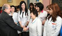 Հանրապետության նախագահ Արմեն Սարգսյանի շնորհավորական ուղերձը Մայրության և գեղեցկության տոնի առթիվ