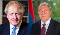 President Armen Sarkissian wished the Prime Minister of Great Britain a speedy recovery