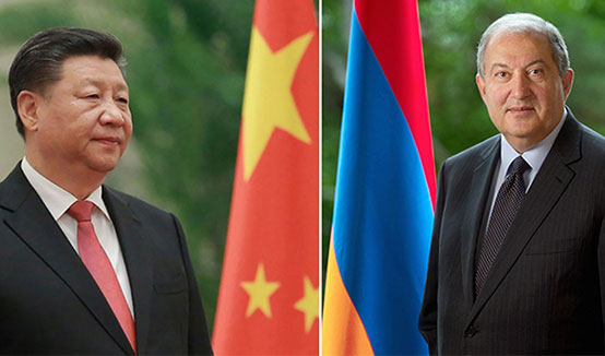 President of China sent a letter to the President of Armenia: I am ready together with you to take efforts to protect life and health of our peoples