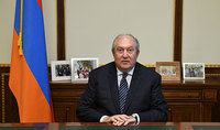 Message of President Armen Sarkissian: today we are taking a test on patriotism, professionalism, humanism, and morality