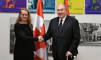Կանադայի գեներալ-նահանգապետը կորոնավիրուսի համավարակի հետ կապված ուղերձ է հղել նախագահ Սարգսյանին