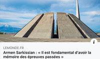 «Անցյալի փորձությունների վերաբերյալ հիշողությունը հիմնարար նշանակություն ունի»․ ֆրանսիական հեղինակավոր «Le Monde» պարբերականը հրապարակել է Հայաստանի նախագահ Արմեն Սարգսյանի հոդվածը