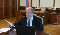President Armen Sarkissian held a video call with the President of Lithuania: to promote development and further deepening of the Armenian-Lithuanian relations through joint efforts