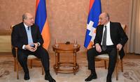 Շուշիի ազատագրումով նոր ոգի ստացավ արցախցիների ձգտումը՝ ապրել ազատ և ինքնիշխան երկրում. նախագահ Սարգսյանը շնորհավորել է Բակո Սահակյանին